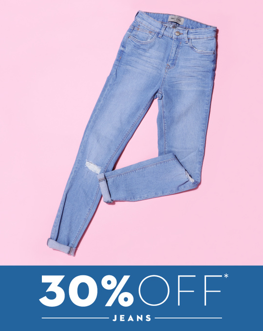 Do The Denim! Enjoy 30% off across all jeans at KOOVS.COM. Use code DENIM30.