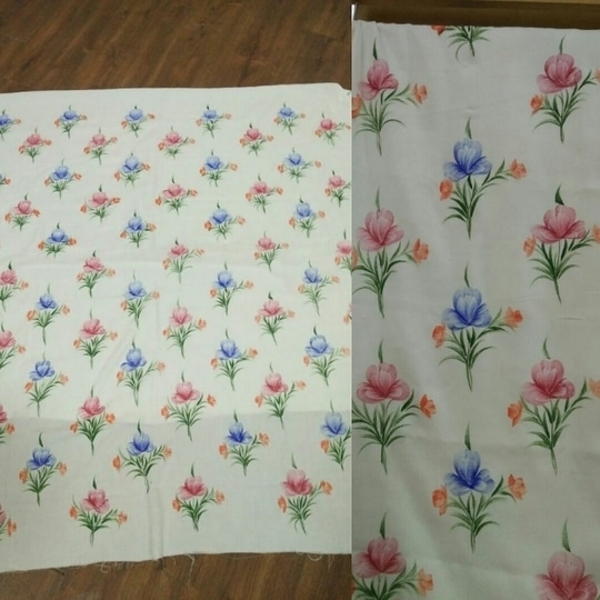 Rayon fabric with hand painted .2.25 mtr   design -till 45 leghth   design no..101....   Watsapp 9760993122 for order  jollycouture@rediffmail.com  Worldwild delivery   #fabric #rayon #handpainted #india #indiafashion #jollycouture #cool #womenswear #women #instagram #kurti #salwarkameez #handmade #ss @jolly couture #flowers #style #ss16 #export #imports #instagram #reseller ...#fashiondiaries #fashionstyle #indiafashionblogger #indiafashionweek #indiandress #online #whatsaap #floral #roposogal #roposo #roposoblogger #roposostyle