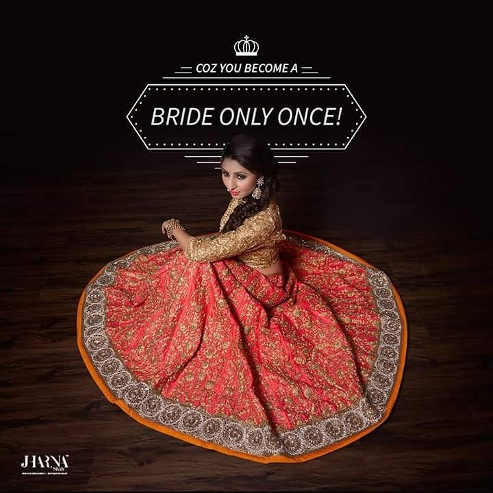 Those Finishing Touches before the big entry on your wedding day are most crucial when you walk & all eyes follows you & at that moment you need to look fabulous that steals the heart  of  everyone in the room and we help you to attain that goal of enhancing your beauty to its maximum with our highly trained professionals at Jharna shah Academy and Salon. For more details contact us on:7506 812 909 / 2610 2100