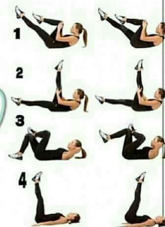 Exercises to flatten your extra belly