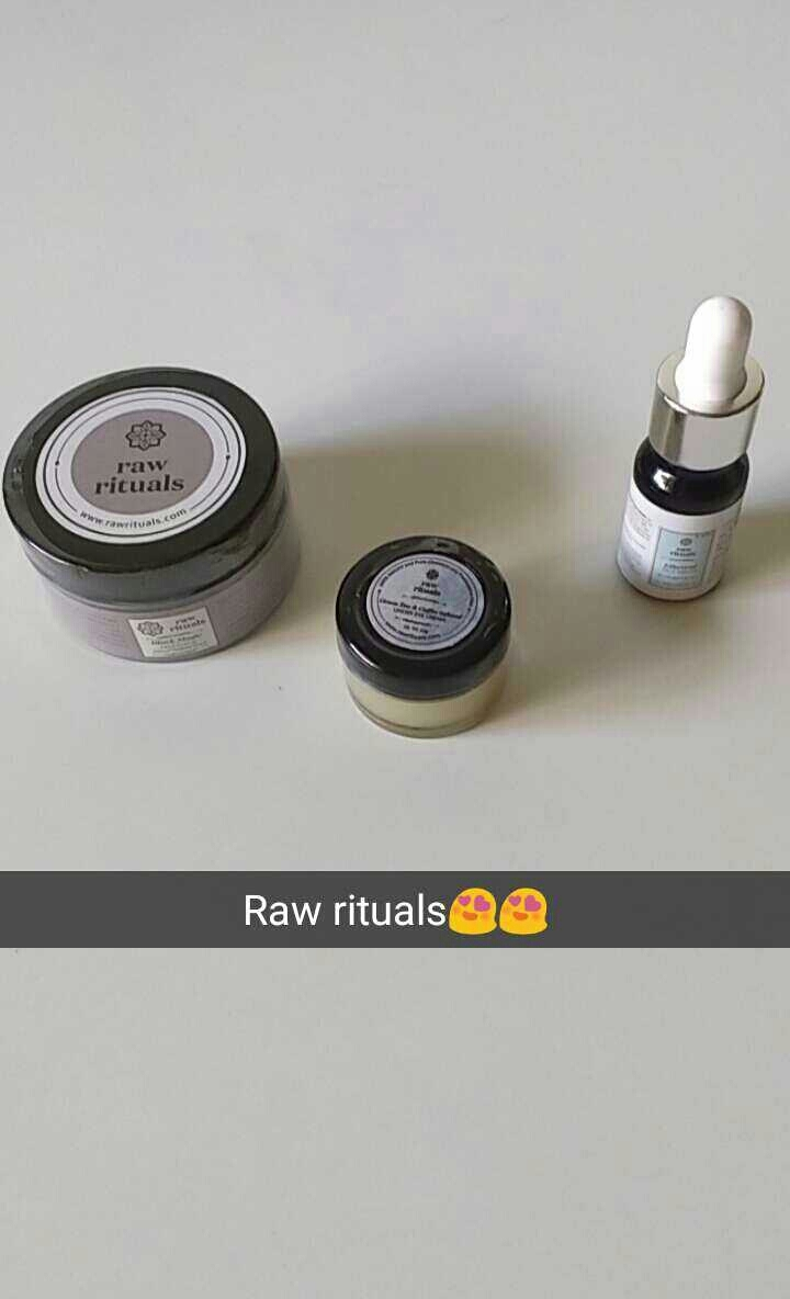 Raw rituals products