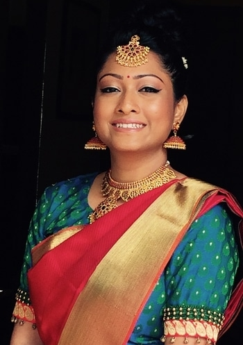 My South Indian bride