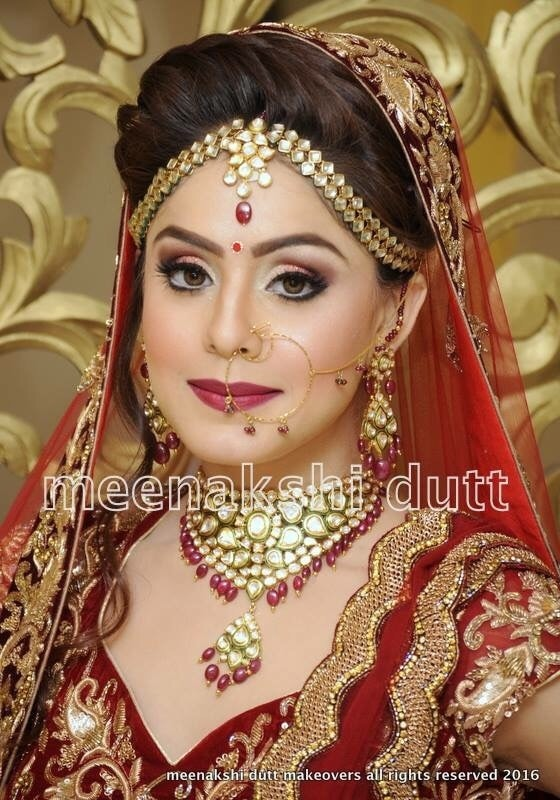 How stunning can a bride look 💋💋, That's the Art we Practice at #Meenakshi duttmakeoversdelhi , u only have to Surrender urself to me and Team to look ur Best Ever on Any special Occasion , we understand ur taste and Style and Work According to ur specifications to bring out the Best in You , too look like the best #indianbride #indianbridalmakeup  Hi! you can call us between 11.30am to 7pm for details, we are at Club Road, Punjabi Bagh and Shivalik main road, near Panchsheel Park South Delhi at : 9560704164 or 01147563972 ,01147563973, 01141755112, 01141755111, 08595-410102
