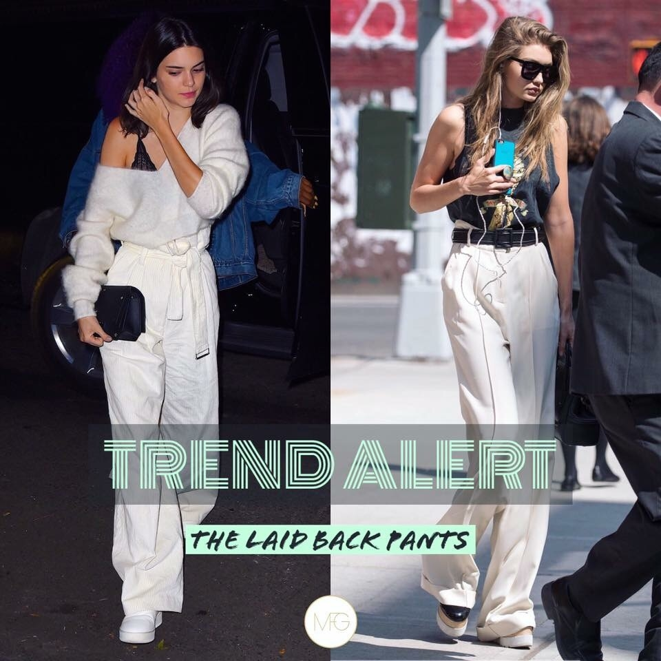 #TRENDALERT : The Laid Back Pants