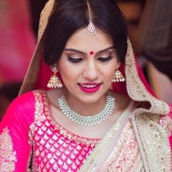 My stunning bride in Sabyasachi