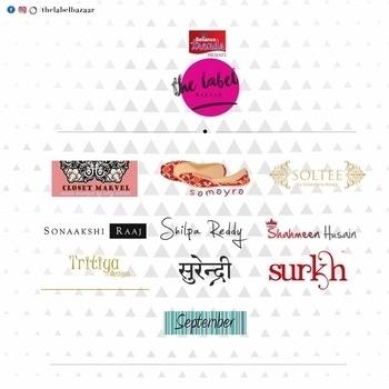 Designer re-cap. Closet marvel, samayra, soltee, sonaakshi raaj, shilpa reddy, shahmeen husain, tritiya designs, surendri, surkh, september and a lot more! All of them Only at THE LABEL BAZAAR!!!! Four days to gooooo! Are you readyyyyyy?  22nd July at the Park Hyatt! be there ❤️ #thelabelbazaar #4daystogo #parkhyatt #hyderabad