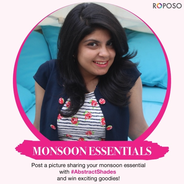 Hola! Announcing my first giveaway, the winner will receive Roposo Goodies along with a personalised surprise gift from my side 💕  Rules of the Giveaway-  1. Follow me on Roposo 2. Like this post 3. Tag 3 of your friends in the comments below 4. Post a Picture of your monsoon look or your favourite monsoon essentials on Roposo with the #AbstractShades ☔️ 5. Comment Done on this post once you have followed all the steps   Repost this picture to earn brownie points.   Don't forget to use #AbstractShades and tag me as well. Multiple entires allowed 💋  The Giveaway will run till 15th August and the winner will be announced on 17th August.  P.S- If you unfollow after the giveaway, then you will be blocked from all future giveaways!  The countdown has begun girls, start flaunting your monsoon essentials 💁  Good Luck 👍🏻  #summer #streetstyle #OOTD #dslr #whatiwore #fashionista #abstractshades #igers #snapchat #instalike #instadaily #instafashion #tagsforlikes #follow #roposo #makeup #iphoneonly #fashionblogger #happy #travel #travelgram #travelling #like4like #likesforlikes #photography #pictureoftheday #beauty #travelblog #lifestyle #monsoon #monsoonstyle #contest #contestalert #giveaway #giveawaycontest #giveawayalert #goodies  #fashionbloggers