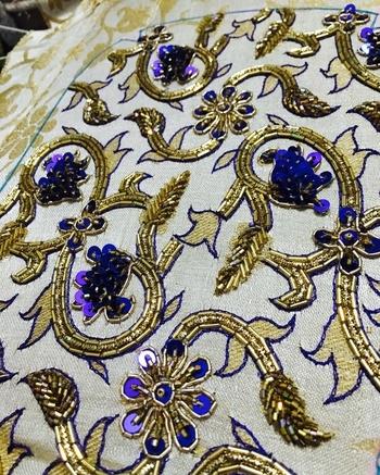 TL-designs #tailoringlabdesigns#clickdesignstitch#handmade#handembroidered#dabkawork#zardoziwork#puresilks#partycluthes#bluelove#goldenlove