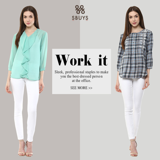 Work it UP! Revamp your everyday office wardrobe.
