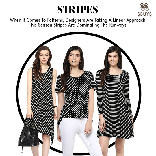 The trends of spoken and stripes it is!