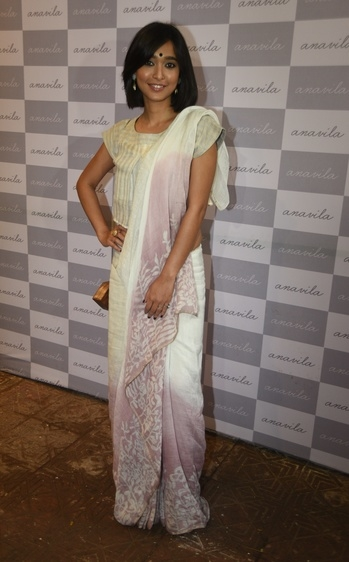 #SayaniGupta wearing #Eurumme Ring for #Anavila store launch.