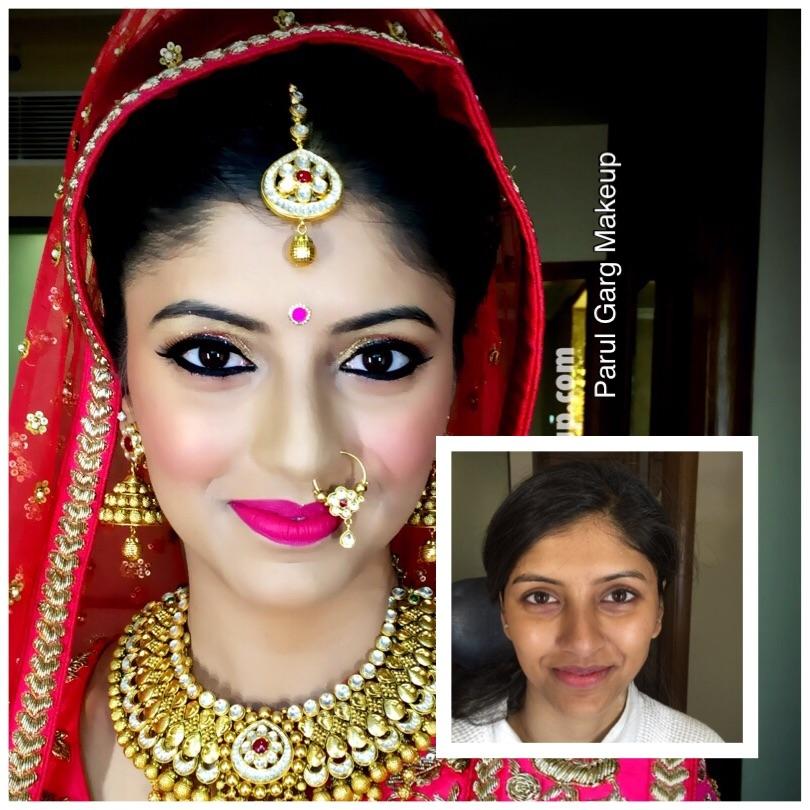 Gorgeous Bridal Makeover with beautiful pink hues! Makeup by Parul Garg. Contact 9599588312 #parulgargmakeup #bridalmakeup #bridalmakeupartist #beauty #makeupartist #wedabout #weddingz #weddingplz #shaadisaga #wedmegood #imbbmakeupgurus #bridal
