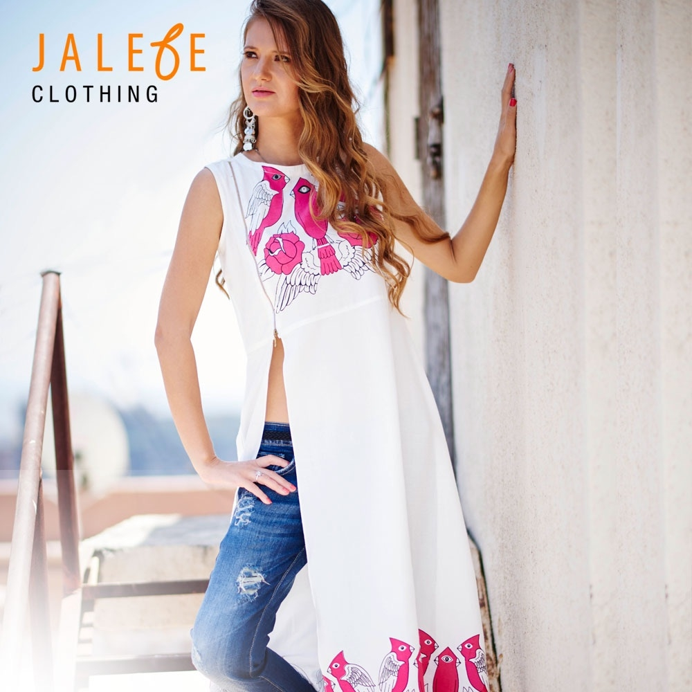 Buy this unique Quirky printed #dress/tunic Only at indetrend.com #jalebe #trendy #jalebeclothing  #fashion #apparel #fusion #fashionable #lady #kitsch #clothes #indetrend #jalebeishot #pink #white #black #ladies #ladiesfashion #clothing #love #birdie #viscose #quirky #trend #designer #designerwear #summer #spring #fashionista www.indetrend.com