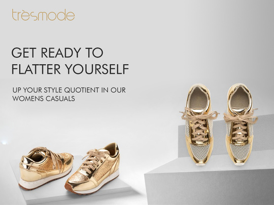 You don't need an occasion for shoes. With the right shoes, the occasion finds you! Get with this season's hottest trend here: http://bit.ly/GoldSneakersTresmode #sneakers #shoes #shoelove #golden #bling #Tresmode