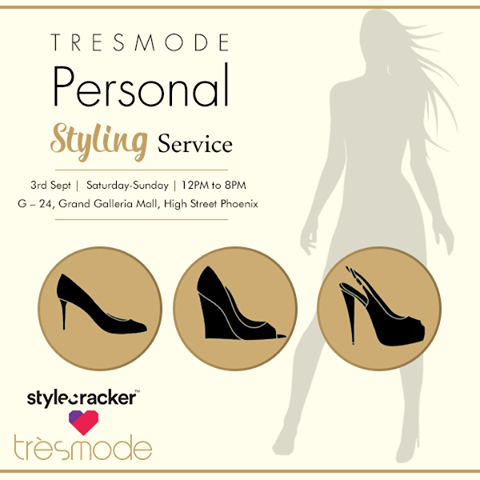 Big announcement! We are sorting all your styling woes with the #Tresmode Personal Styling Service and StyleCracker. Our fashion gurus will help you pick the right shoes you based on your likes, personal style and preferences. #styling #fashion #personality #style #shoes #wedges #pumps #heels #shoelove