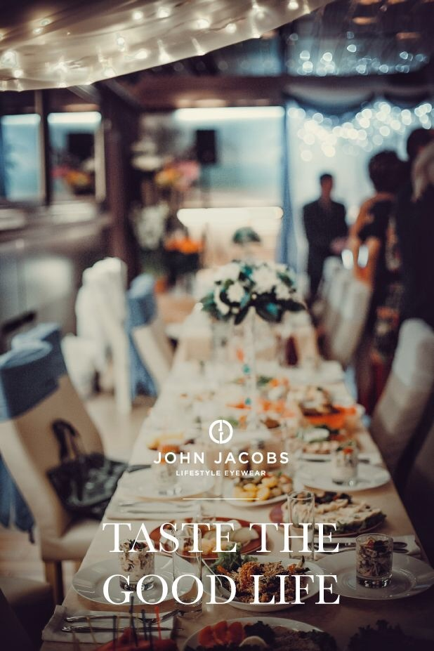 Restaurant Week India kicked off today & John Jacobs is going to be the cherry on the cake! A little surprise awaits you at the end of your meal. Bon appétit ! #EyewearForAllOccasions #ConnoisseursOfTheGoodLife #TheNewView #JohnJacobs
