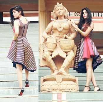 Fusion. 🌸 #pfwstyle #showstopper2016 #seasonsmall #model #fashionblogger #indianblogger #indianfashionblogger #ootd #lookbook #followme #follow4follow #pune #punediaries #lavasa #travelling #outing #croptop #whitesneakers #koovs #whiteshoes #zara #diesel #forever21india #forver21 @roposotalks @roposocontests @seasons @punefashionweek #like4like #love #style #girl #fashion #trending #iamfrompune #stylishme #pune #puneblogger #roposopune #roposostyle #roposblog #beautyblogger #blogger #fashiontips #biker #superbikes #leatherjacket #rawfashion #streetstyle #designer #designergarment #indian #indianbeautyblogger #fusion #fashion #fashiondesigner