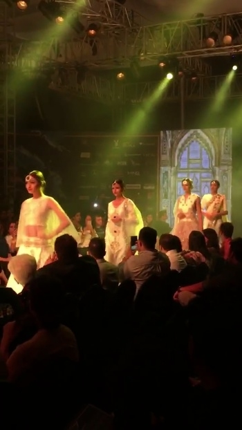 The amazing @anj couture @punefashionweek  #punefashionweek  #makingpunefashionable #pfw2016 #SoRoposo