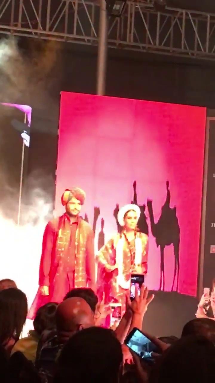 Rajasthani vibes @bibirussell @punefashionweek  #PuneFashionWeek #makingpunefashionable #pfw2016 #SoRoposo #glamprotocol