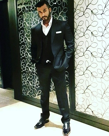 Nothing like a black three piece suit, classic. #gohard #mumbai #chennai #suit #swag #fashion #style #hair #shoes #ootd #black #nofilter #indianfashionblogger #wiwt #aboutalook #outfitoftheday #lookbook #suitup