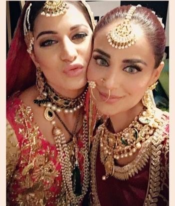 Bridal Jewellery 💖 #teamdulhan