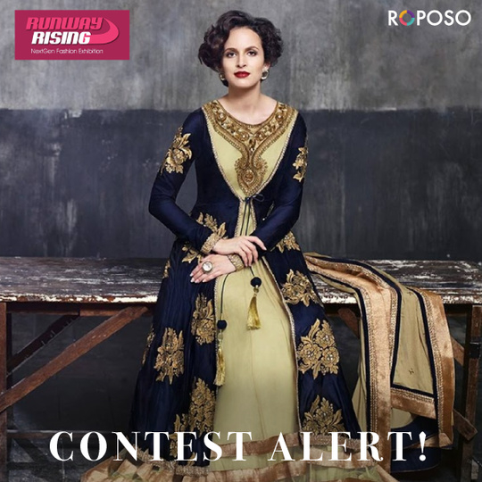 CONTEST ALERT Runway Rising is back with yet another contest!  Its time for you to show your best ethnic look and grab the goodies of this Pre Diwali contest.  Rules for the Contest :  1. Repost this picture. 2. Share your best ethnic look with #runwayrising. 3. Tag 5 friends and comment Done on this picture. 4. 3 winners will be announced on 5th October.  5. The contest is valid for everyone in India. We would request the winners to collect their goodies from The Ashok Hotel on 5th October.  P.S - You must follow us on Roposo for your entries to be valid.   Do visit us  The Ashok Hotel  5th October 11 am to 8pm Open Entry  For any queries, call us on +9198211-01058.  #runwayrising #roposocontest #prediwalicontest #fashionandlifestyle #exhibitiondiaries #contestalert #5thOctober #Theashokhotel