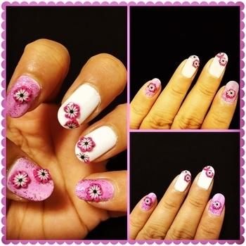 #ishanailart #nailart #naildesign #nailpaint #fun #enjoy #happy #love #nailarttutorial #nailstutorial #freetimefun #tutorial #wordpressblog #manicure #easynailart #beautifulnails #prettynails #creativity #diynails #lovemynails #lovetodesignmynails #designyournailsbyisha #lovenailart #lovetodonailart #pinknails #floralnails #flowernails