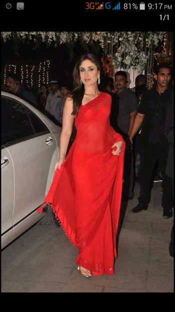 beautiful kreena in red shadi...💞😘