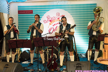 The Grand Octobier Fest At Grand Hyatt  Article Link: http://www.sassyshifsays.in/grand-octobier-fest-grand-hyatt/  Join in the Bavarian Festivities celebrated in a grand way only at The OctoBier Fest at Grand Hyatt Mumbai #GrandOctoBierFest #LiveBand #GermanBand D Talbach-Buam #LivingGrand #InaHyattWorld #BeerFest #BavarianDelights ##Delicacies #ChefHermannGrossbichler