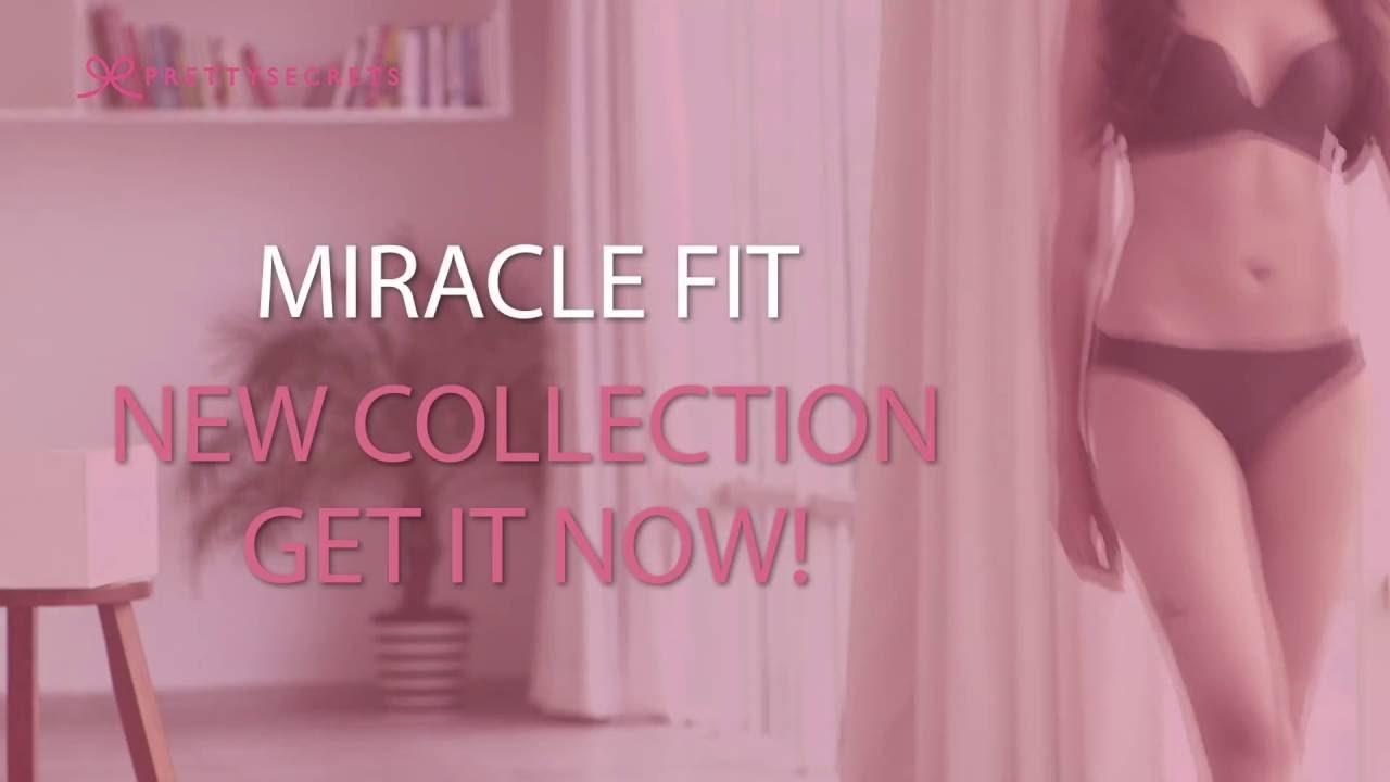 We've got your back with our new collection of 'Miracle Fit' seamless lingerie. The most flattering, shape-enhancing & comfortable styles to make sure that you look your best at all times. It's that extra bit of confidence-boosting camouflage we all need sometimes. No visible panty lines & undetectable under any clothing, 'Miracle Fit' is a wardrobe essential!