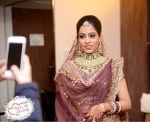 Bridal Makeup and hair for Pallavi Pratap #wedmealready #wedmealready