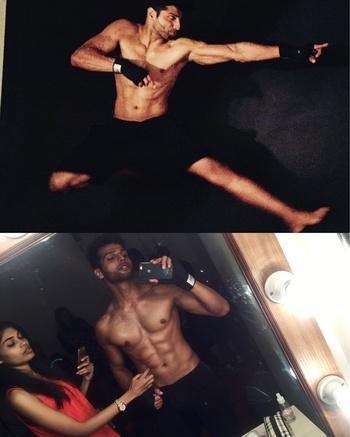 Shoot mode Bombay !  Fitness shoots are always crazy, flexing for over 5 hours ain't easy but still love it :) #fitnessshoot #fitnessmodel  --     --     --      --      --      --       --        --       --    Make up - @kritshetty  ------------------------------ #abs #shredded #ripped #rahul #mrindia #fitnessmotivation #crossfit #photography #kickboxing #boxing #trendingnow #malemodel #menonroposo # #fitness