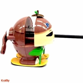 Add this animated pencil sharpner to your boring office accessories. #Kraftly Buy Now: http://bit.ly/2eEsKg5 #OnlineShopping #Stationary #QuirkyPencilSharpener #KraftlyShop #Pic #Picoftheday #likeforLike #FollowforFollow #Delhi