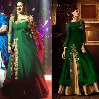 Divyanka Tripathi Spotted in our Emerald And Gold Sharara Suit  Product Code - FCSS110 #divyanka #divyankatripathi #yhm #ruhi #ishita #yehhaimohabbatein #bridalmakeup #bridalfashion #weddingfashion ##bridalstyle #bridallengha #indianwedding #southasianwedding #fashion #beautiful #emerald #fashionblogger #indianblogger #traditionalwedding #mumbai #sikhwedding #sikhbride #indianbridalmakeup #indianbridal #pakistaniwedding #dulhan #allthingsbridal #southasianbride #desiwedding