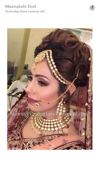 Bridal makeup with Elegance and Style #meenakshidutt #meenakshiduttmakeoversdelhi #muadelhi #makeupartistindia #bestbridalmakeupartistindia #indianbridalmakeup #indianbride