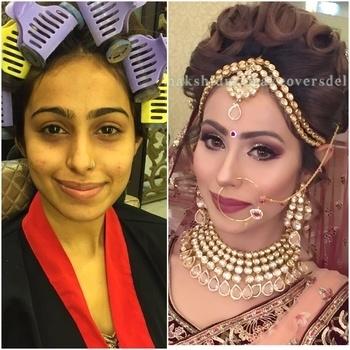 #meenakshiduttmakeoversdelhi #meenakshidutt #makeupartistindia #makeupartistsworldwide #beforeafter #bestmakeupartistindelhi