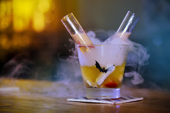 Get Haunted at Hoppipola –Special Coverage of Halloween Cocktails  #soroposo #foodie #foodjunkie #food #cocktail #Halloween