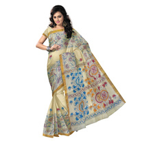 New Design West Bengal Cotton Saree for Festival Wear.Available #Online . Buy Now : http://bit.ly/2fFc321.