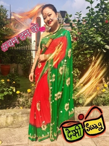 My new blog post on Nepal holiday outfits with a bonus traditional Nepalese jewellery ! 🙏🏻✨✨ {www.TinaRaiPun.com} #nepalesebeauty #styletips #beautyvlogger #travelblogger #youtubeindia #ytcreatorsindia #saree #desilook #swag #sari #nepalijewellery #ethnicwear #lookbook #outfit #soroposo #roposo #banthanke #desiswag #indianbeautyblog #tilhari #pote #makeup #weddingoutfit #partylook #teej #festivalvibes #nepalibeauty