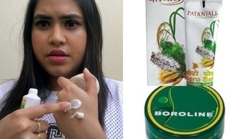 Patanjali Borosafe review   Comparison with Boroline   Affordable Winter Skincare Hacks In India