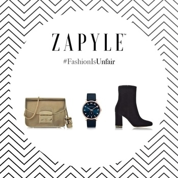 🎉🎊GIVEAWAY TIME🎉🎊 Welcome to the Zapyle Holiday Cheers Contest. Premium Fashion is not easily accessible n our country while being expensive at the same time. Moreover, trends keep changing. Participate in the Fashion Is Unfair contest and three of you will be winning shopping vouchers from Zapyle which you can use while shopping at the big holiday haul sale coming up soon! Also, Zapyle is launching EMI option very soon. Get ready to shop crazy! (Use #FashionIsUnfair and #ZapyleFashionFam. ) Steps: 1. Follow @festastylegirl and @zapyle 2.Repost/share this image tagging @festastylegirl @zapyle 3. Caption it asking any query related to luxury fashion shopping or state why do you feel that fashion is unfair. Use #FashionIsUnfair and #ZapyleFashionFam #festastylegirl  Best 3 captions will win the vouchers worth Rs. 2000 each Only on Instagram