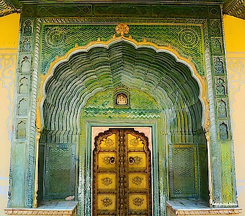 Leheriya gate at the Pritam Niwas Chowk,is a beautiful vividly green coloured gate that definitely too left me spellbound. This gate is aptly called as the Spring season as the colour green so well represents the spring season. So Pritam Niwas Chowk is one place you should not even think to miss if you visit the City Palace. Read my blogpost on Jaipur to know what else is not to be missed in Jaipur city and city palace. Here is the link  http://www.hoppingheels.com/rajasthan1/top-10-things-to-do-in-jaipur-the-city-of-royals  And   http://www.hoppingheels.com/rajasthan1/11-things-in-jaipur-city-palace-that-will-leave-you-spellbound  #palace #jaipurcitypalace #rajputs #palace #jaipur #spring #gate #leheriyagate #springgate #rajasthan #royals #incredibleindia #indianroyals #indianroyals #jaipurroyals  #aravallis  #niskani #travelphotography #traveldiaries #instapic #hoppingheels #lifestyleblog #lifestyleblogger #travelblogger #travelblog #indianlifestyleblog #instatravel #indiantravelbloggers #travel  @indiangirlstravel @natgeotravel @lonelyplanet @natgeotravellerindia @incredibleindia @lonelyplanetmagazineindia @discoverychannelin @air.vistara @traveltemptation__