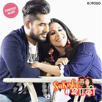 Actors and lovebirds @suyyashrai & @kishwermerchantt are tying the knot! Be a part of their festivities, take part in the #SukishKiShaadi contest here - https://www.roposo.com/custom/contest/sukishkishaadi  #WeddingBells #RoposoContest #SoRoposo #Roposo  Special shoutout to @slashproductions