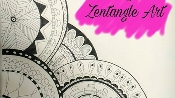 Learn to make this zentangle with me  Also, please subscribe to my channel.  #zentangles #art #artist #indianyoutuber #indian #youtubecreatorindia #youtubechannel #doodling #mandala #monochromemagic #designer #tutorial #step_by_step #howto #youwillloveit #zentangleanimal