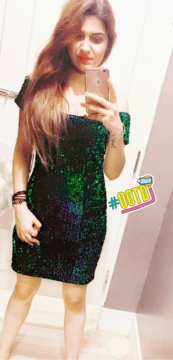 Sequin dress😍  #love #sequin #dress #offshoulder #roposogal #roposobeauty #roposodiaries #roposoblogger #fashionandlifestyle #ootd #mood #motn #accessorize #perfectpic #ootd
