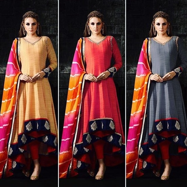 More colours in one of our best seller 'Multicolour Silk High-Low Anarkali' Available colours: Red  Yellow  Grey Product code - FCSS409  Available at www.fashionclozet.com  Watsapp - +91 9930777376 Email -  fashioncloset06@gmail.com Or DM for enquiries.  #sari  #indiandesigner #indiansuits #indianbrides #manishmalhotra #saree #indianclothes  #bridalwear  #sikhweddings #eidspecial #indiancouture #eid  #newyork  #lenghacholi #sikhwedding #anarkalis #taruntahiliani #gottapatti  #pakistanifashion #shyamalbhumika #anandkaraj #fashiondesigner #eidspecial #style #styleblogger #styleoftheday #styleinspiration #styletips #stylefile #styledbyme