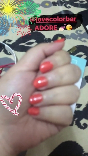 Love @colorbar 💅🏻😘 Shade No - 113  Shade Name - ADORE  #nailpaint #lovecolorbar #favoriteone #nailsoftheday #nailshade #festivenails #mycolour #colorbarindia #colorbarnailpaint  #colorbarnailcolour #lovemynails #nailsandme #nailstyle #nailbloger #nailslove #perfectshade #roposostylefiles #roposogal #nailguide #nailedit #videooftheday #bloggerlife #bloggerpost #followmeonroposo #instanails #awesomecolor #nailartaddicts #naildesign  #nailcolour