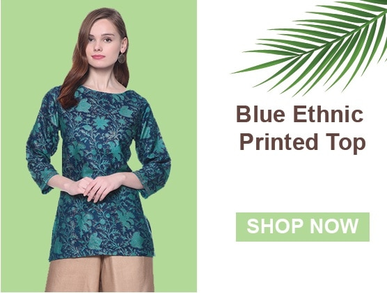 2017's most gorgeous #Kurtis just arrived! Shop Now! Blue Ethnic Printed Top: https://goo.gl/0O70iv Brown Ethnic Printed Top: https://goo.gl/LfLdWc