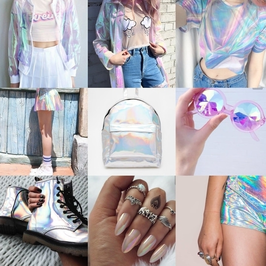 Holographic trend is gonna be a fashion statement in the coming year. I love it. It's so futuristic. Blend a holographic piece with a minimal outfit, and voila, you're already making heads turn. This bold trend will be 2017 fashion story. #fashionforecast2017 #roposo #roposotalk #roposolove #fashionblogger  #roposocontest @roposotalks @roposocontests