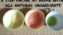 Step by step natural facial at home to get fair instantly